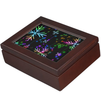 Snow Star Keepsake Box