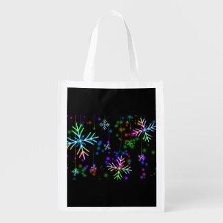 Snow Star Reusable Grocery Bag