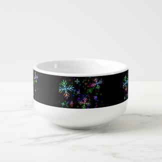 Snow Star Soup Mug