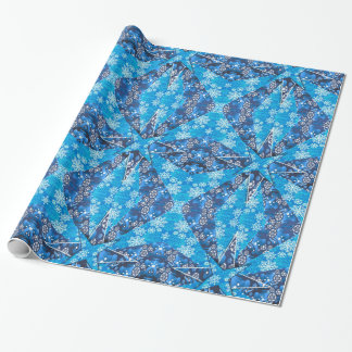 Snow Star Wrapping Paper