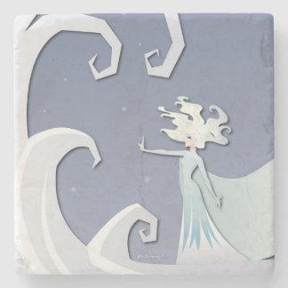 Snow Storm Stone Coaster