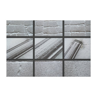 Snow Stretched Canvas Prints