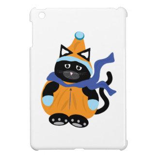 Snow Suit Cat iPad Mini Cover