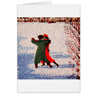 Snow Tango Card