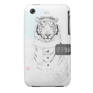 Snow tiger iPhone 3 cover