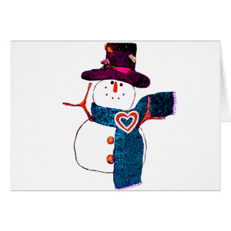 Snow Time to Wait Greeting Card
