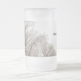 Snow Tree Frosted Mug