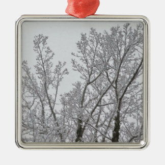 Snow Tree Ornament