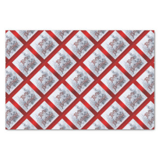 Snow Trees Christmas Tissue Paper