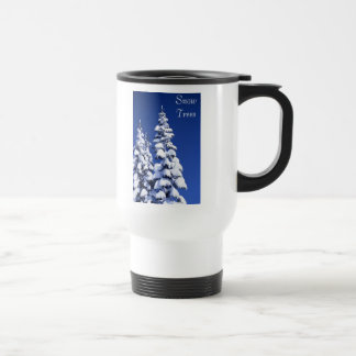 Snow Trees Mug