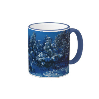 Snow Trees Mugs