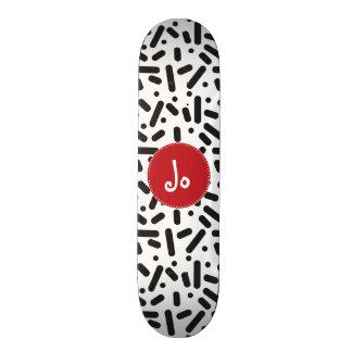 Snow White 18.1 Cm Old School Skateboard Deck