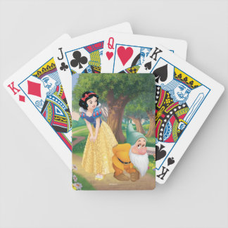Snow White And Bashful Bicycle Playing Cards