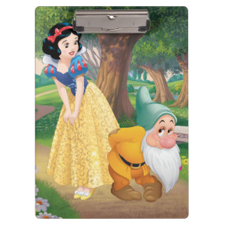 Snow White And Bashful Clipboard