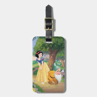 Snow White And Bashful Luggage Tag