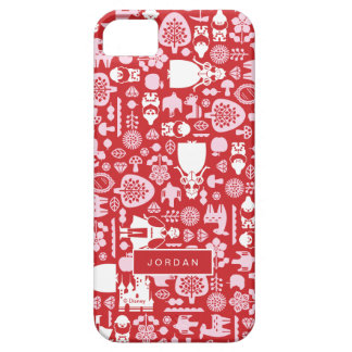 Snow White and Friends Pattern | Add Your Name iPhone 5 Covers