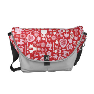 Snow White and Friends Pattern Courier Bag