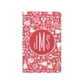 Snow White and Friends Pattern   Monogram Journal