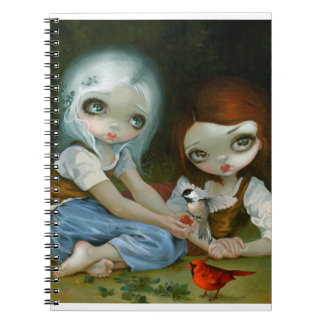 """Snow White and Rose Red"" Notebook"