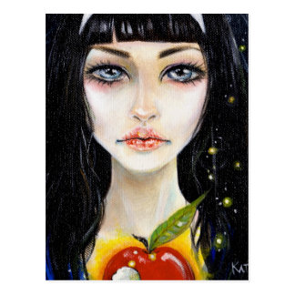 Snow White and the Poison Apple postcard