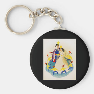 Snow White and the seven dwarfs Key Ring