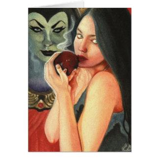 Snow White Card