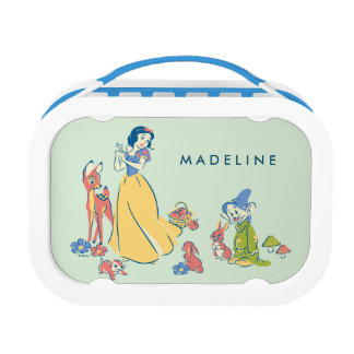 Snow White & Dopey with Friends Lunch Box