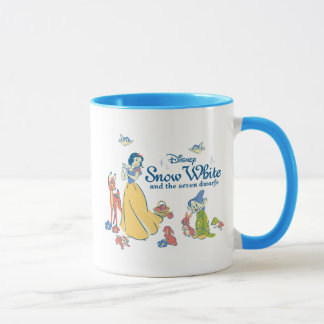 Snow White & Dopey with Friends Mug
