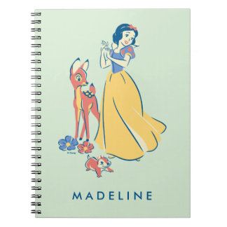 Snow White & Dopey with Friends Notebook