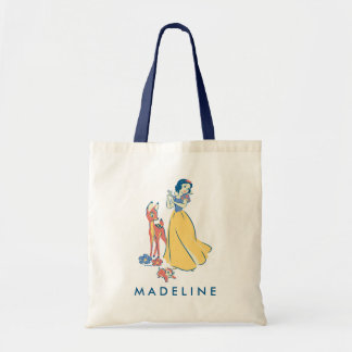 Snow White & Dopey with Friends Tote Bag
