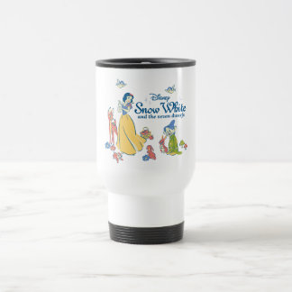 Snow White & Dopey with Friends Travel Mug
