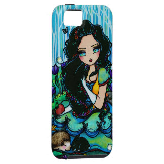 Snow White Forest Animals Fantasy Art iPhone Case