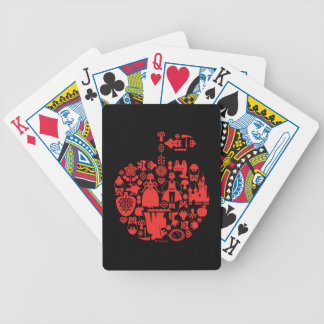 Snow White & Friends Apple Bicycle Playing Cards