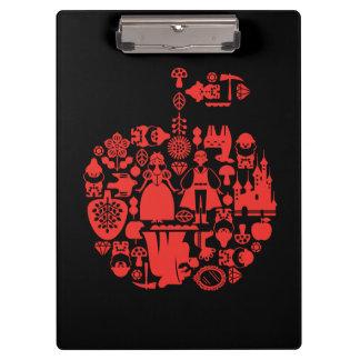 Snow White & Friends Apple Clipboard