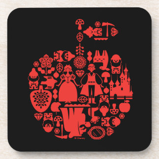 Snow White & Friends Apple Coaster