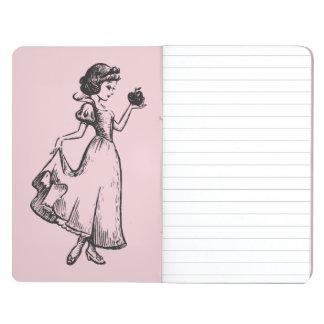 Snow White   Holding Apple - Elegant Sketch Journal
