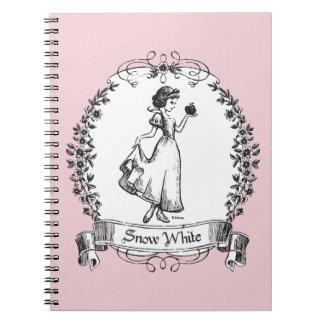 Snow White   Holding Apple - Elegant Sketch Notebooks