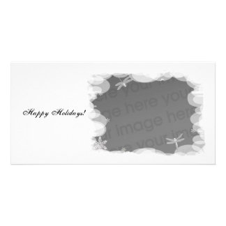 Snow White Holidays! Customised Photo Card