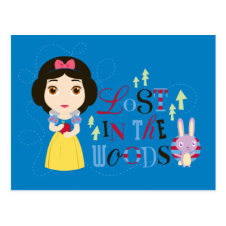 Snow White | Lost in the Woods Postcard
