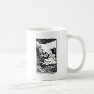 snow white coffee mug