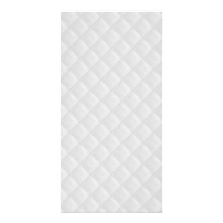 Snow White Quilt Pattern Photo Greeting Card