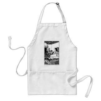 snow white standard apron