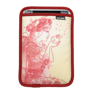 Snow White | Watercolor Outline iPad Mini Sleeve