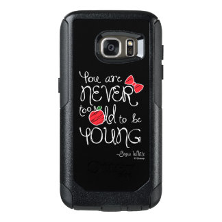 Snow White | You Are Never To Old To Be Young OtterBox Samsung Galaxy S7 Case
