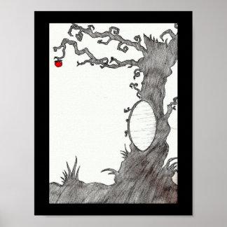 Snow White's Magic Tree Poster