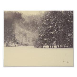 Snow Wind Photo Print