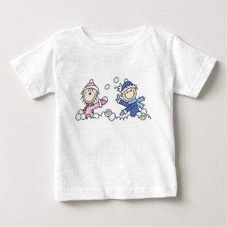 Snowball Fight Baby T-Shirt
