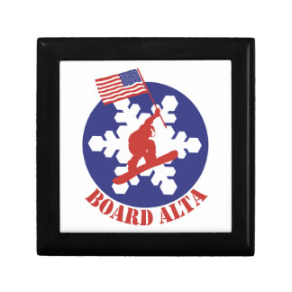 Snowboard Alta Gift Box