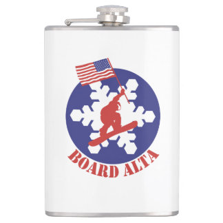 Snowboard Alta Hip Flask