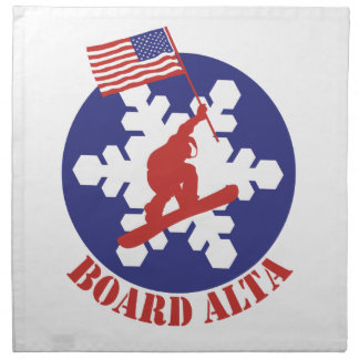 Snowboard Alta Napkin